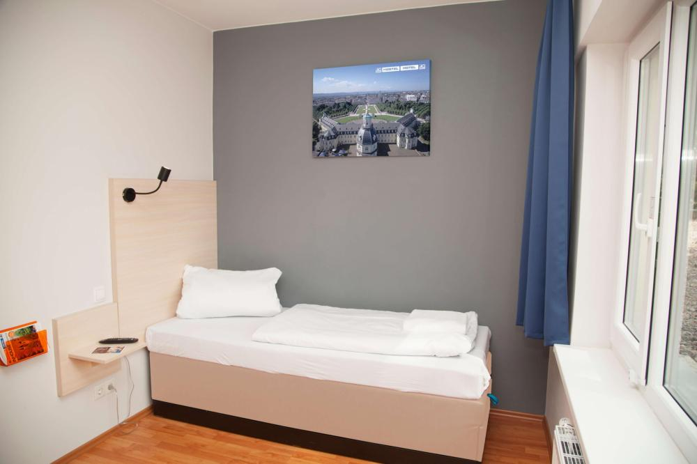 A&O Karlsruhe Chambre simple