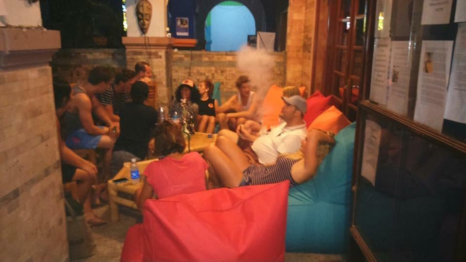 Salon à Sisha