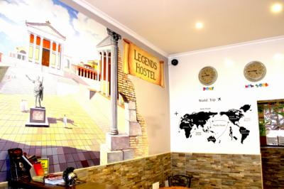 Auberges de jeunesse - Legends Hostel Rome
